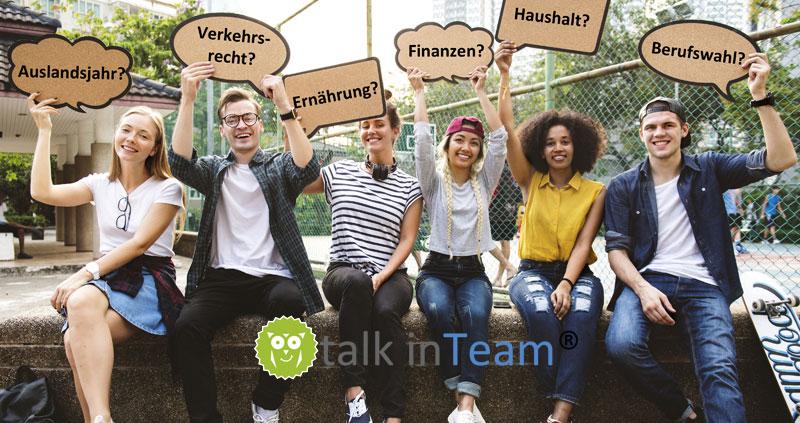 Warum talk inTeam®? Weil Bildung mehr als nur Wissen ist